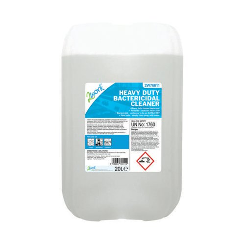 2Work Heavy Duty Bactericidal Cleaner 20 Litre 2W76011