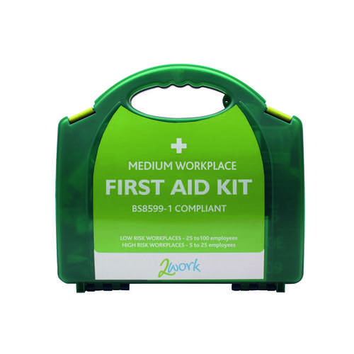 2Work BSI Compliant First Aid Kit Medium 2W99438
