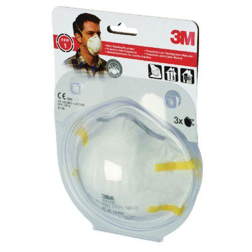 3M Cup Shaped Respirator FFP1 8710E XA004838000