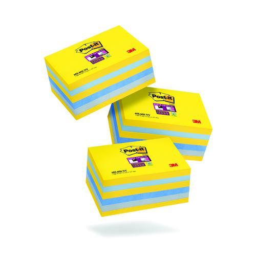 Post-It Super Sticky New York 76x127mm (Pack of 6) 3 For 2