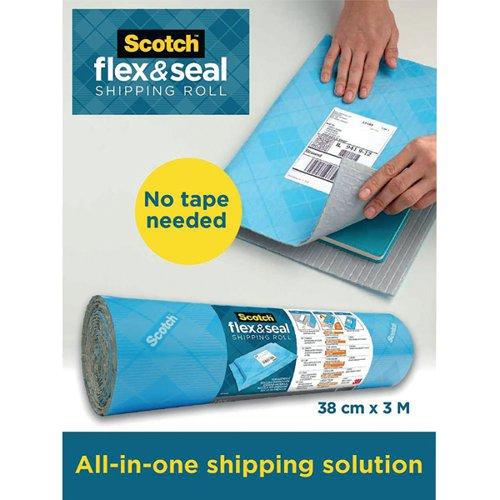 Flex And Seal Shipping Roll 38cmx3m FS-1510-6-EU - 3M85360