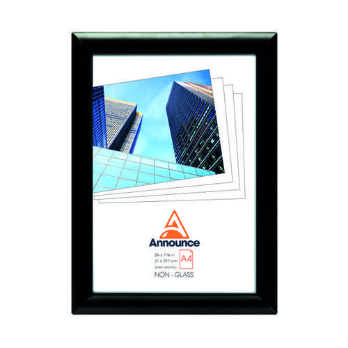 Announce Snap Frame A4 Black AA06222