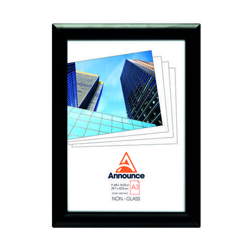 Announce Snap Frame A3 Black AA06223