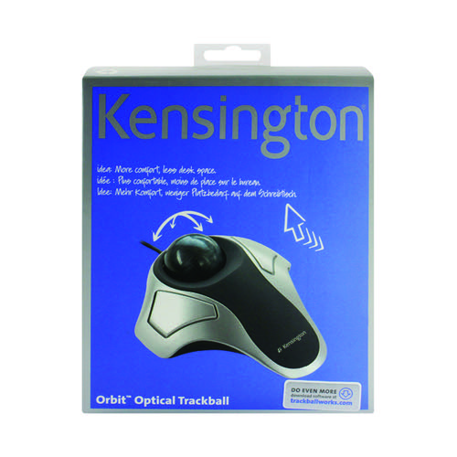 Kensington Silver Grey Orbit Optical Trackball 64327EU