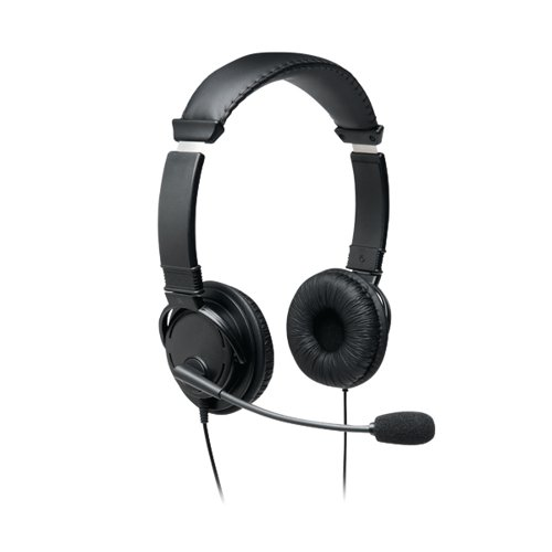 Kensington Headphones USB HiFi with Microphone Black K97601WW