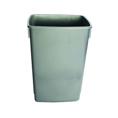 Addis Grey 54 Litre Recycling Bin Kit Base Metallic (Pack of 3) 505574