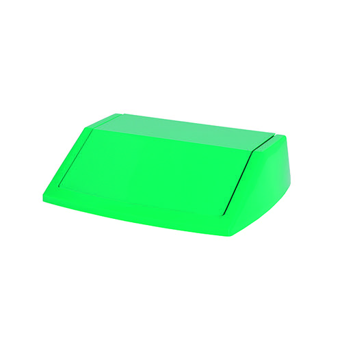 Addis 60 Litre Fliptop Bin Lid Green 512571