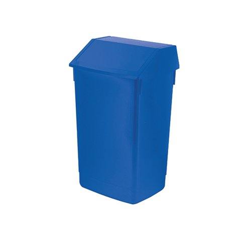 Addis Fliptop Bin 60 Litre Blue AG813424