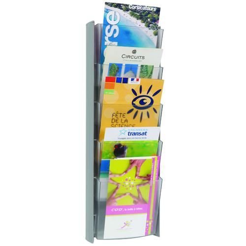 Alba Wall Display Unit 5 Pocket A5 Metallic DDPROMMM