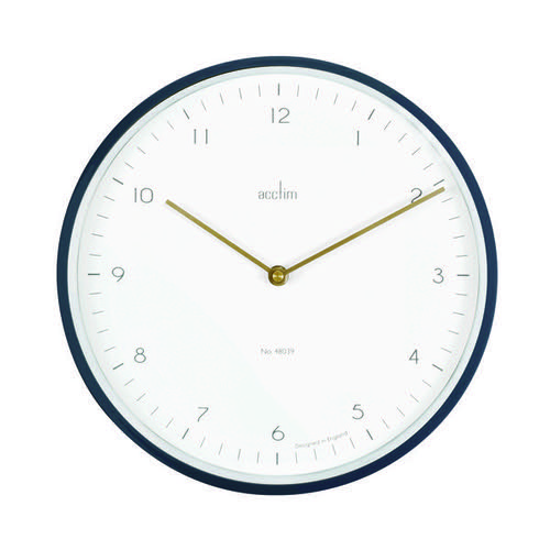 Acctim Bronx 30cm Wall Clock Grey 29457