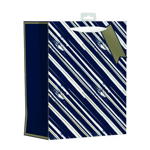 Giftmaker Vertical Stripe Gift Bag Large (Pack of 6) MGSL