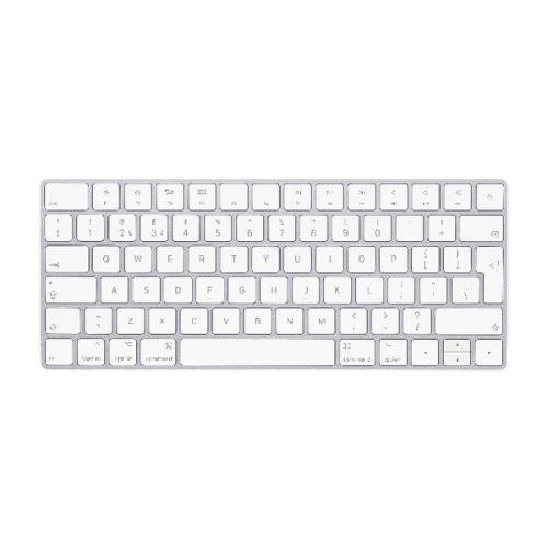 Cheapest price of Apple Magic Keyboard - British English White/Silver Mla22B/A in new is £123.73