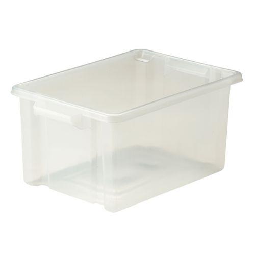 Strata 14.5L Storemaster Box Midi Clear HW044-CLEAR
