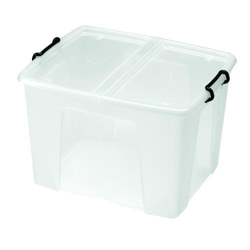 Strata Smart Box 65 Litre Clear (W450 x D610 x H340mm) HW686