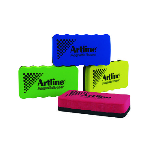 Artline Smiley Whiteboard Eraser Assorted (Pack of 4) ERT-mmS-GB4