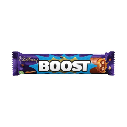 Cadbury Boost 48.5g per Bar No Artifical Colours (Pack of 48) 100129