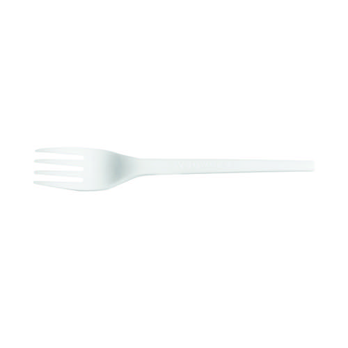 Biodegradable and Compostable CPLA Cutlery Fork (Pack of 50) ZHGCPLA-F