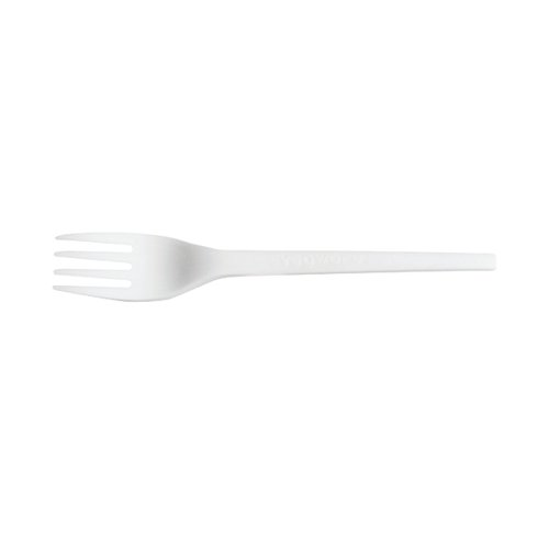 Compare prices for Biodegradable And Compostable Cpla Cutlery Fork (Pack Of 50) Nhlcplaf1000