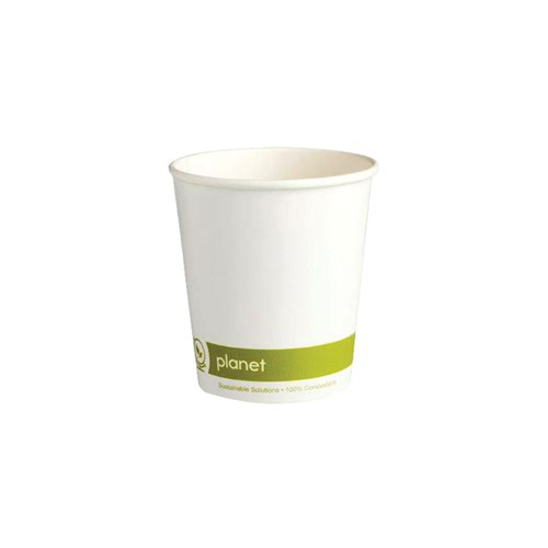 Planet 8oz Double Wall Cups (Pack of 25) HHPLADW08