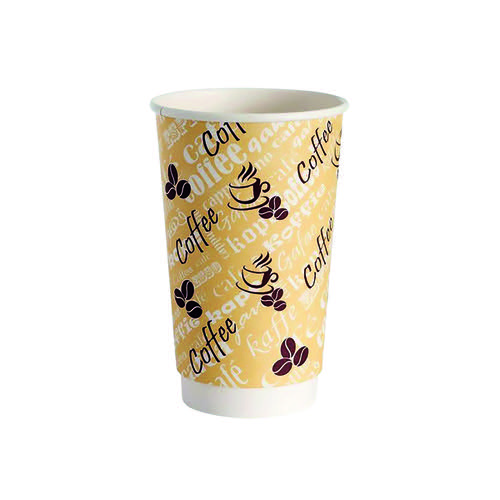 4Aces Double Wall 12oz Red Bean Paper Cup (Pack of 500) HHDWPA12