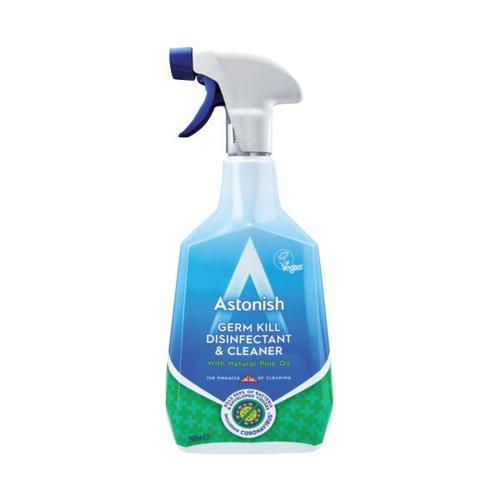Astonish Germ Kill Disinfectant Spray 750ml Blue (Pack of 12) AST01416