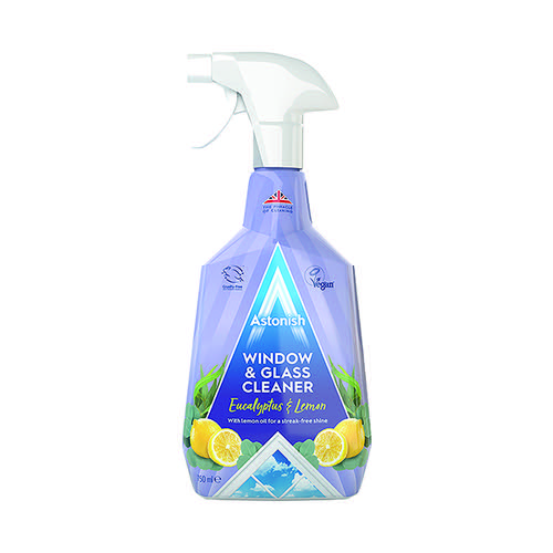 Astonish Window And Glass Cleaner 750ml Blue (Pack of 12) AST21021