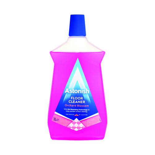 Astonish Orchard Blossom Floor Cleaner 1L Pink (Pack of 12) AST21088