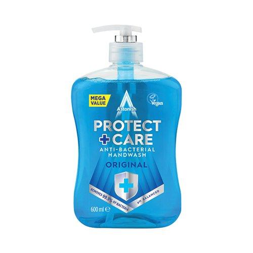 Astonish Clean Protect Antibac Handwash 650ml (Pack of 12) AST21177