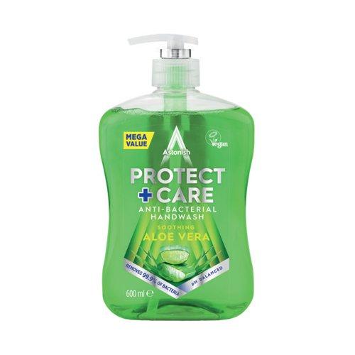 Astonish Anti Back Handwash 650ml AloeVera Green (Pack of 12) AST21183