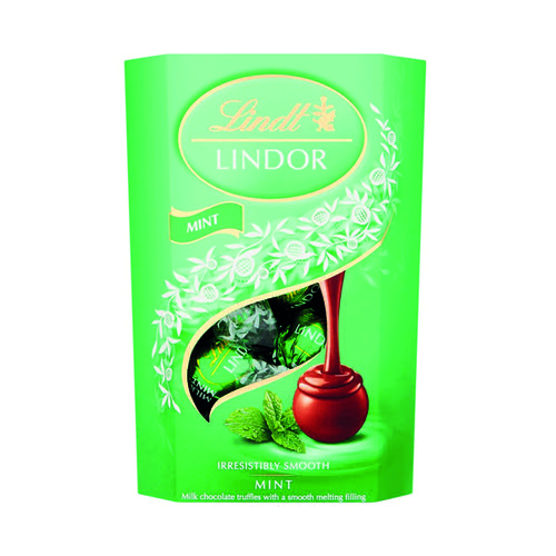 Lindt Lindor Truffles Mint Chocolate 200g FOLIL006
