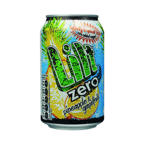 Lilt Zero Soft Drink 330ml (Pack of 24) FOLIL002