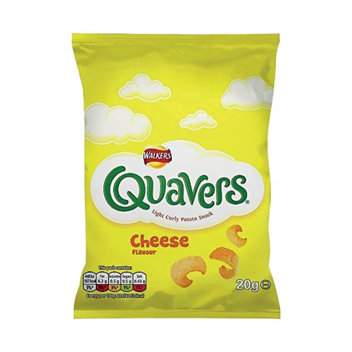 Walkers Quavers 20g (Pack of 32) 122007