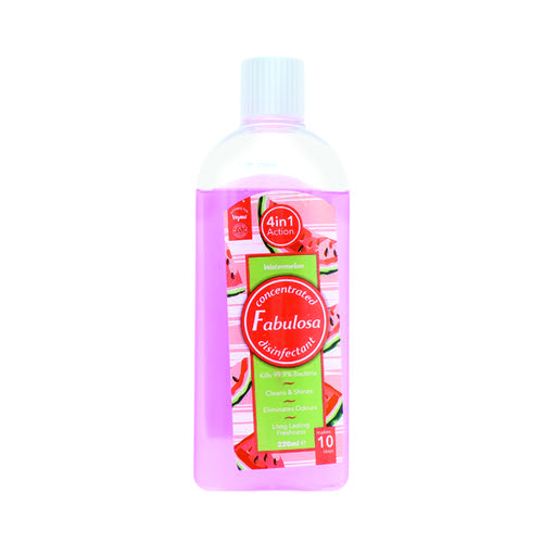 Fabulosa Disinfectant 220ml Watermelon (Pack of 6) HOFAB013