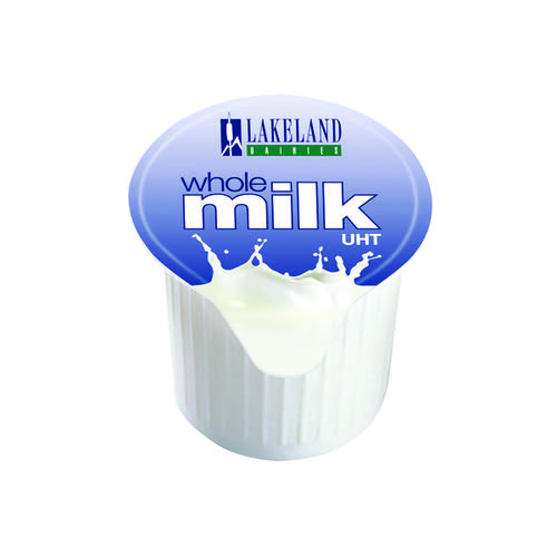 Lakeland Full Fat Milk Pots (Pack of 120) A01982