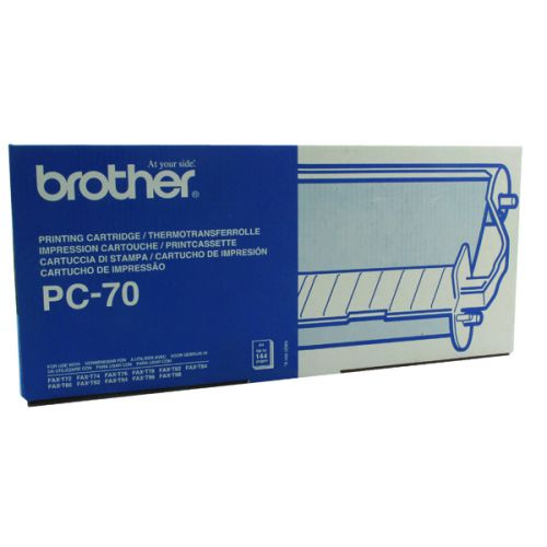Brother Thermal Transfer Ribbon Cartridge and Refill PC70