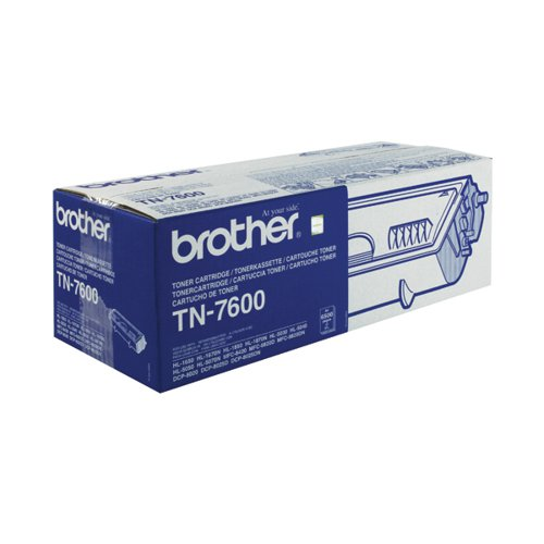 Brother TN7600 Black Toner Cartridge High Capacity TN-7600