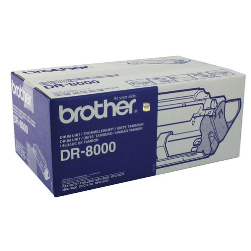 Brother Fax 8070P Drum Unit (10,000 Page Capacity) DR8000