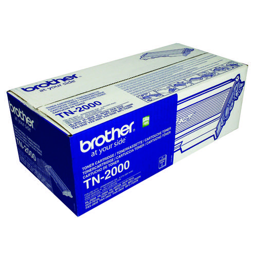 Brother HL-2030 Black Laser Toner Cartridge FAX2920 TN2000