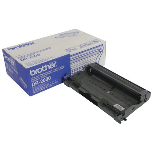 Brother DR-2000 / DR2000 Drum Unit (12000 Page Capacity)
