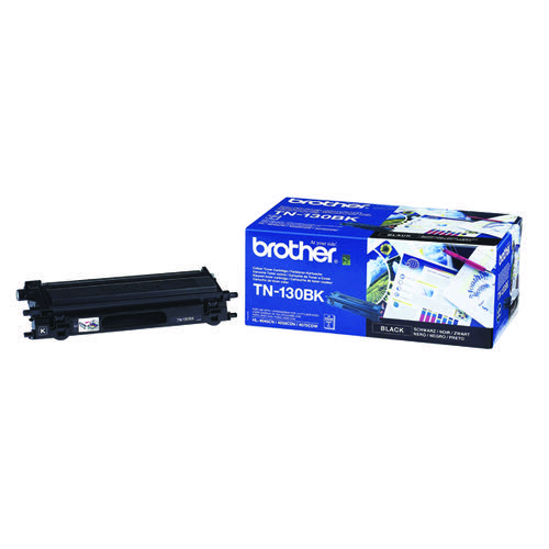 Brother TN130BK Black Laser Toner Cartridge TN-130BK