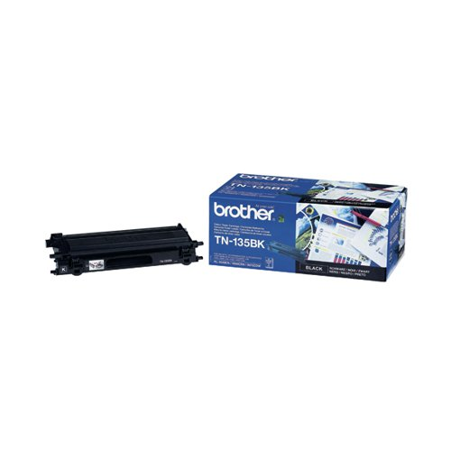 Brother TN135BK Black Toner Cartridge High Capacity TN-135BK