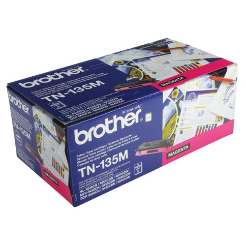 Brother Magenta Toner Cartridge High Capacity TN135M