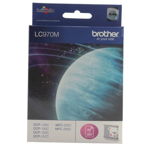 Brother LC-970M Magenta Inkjet Cartridge