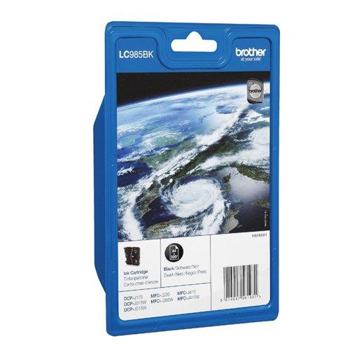 Brother LC985BK Black Inkjet Cartridge LC-985BK