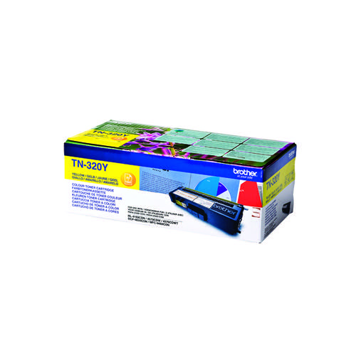 Brother Yellow Laser Toner Cartridge TN320Y