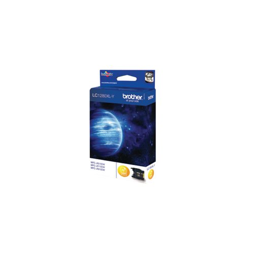 Brother High Yield Yellow Inkjet Cartridge LC1280XLY