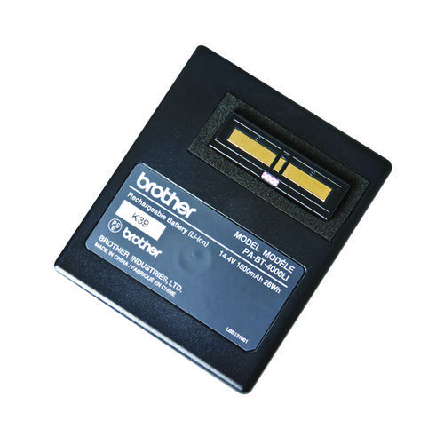 Brother Li-Ion Battery Rechargeable PABT4000LI