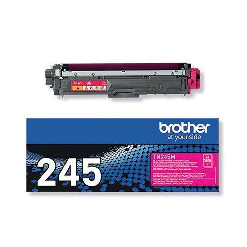 Brother TN-245M Magenta Toner Cartridge High Capacity TN245M