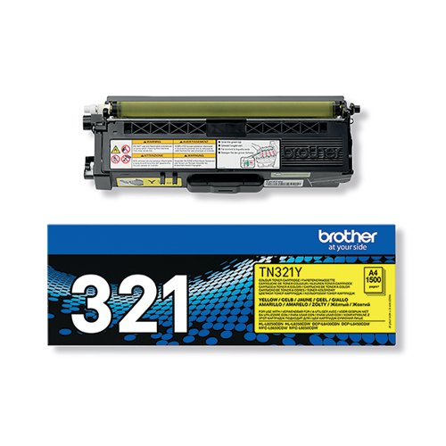 Brother Yellow Laser Toner Cartridge TN-321Y