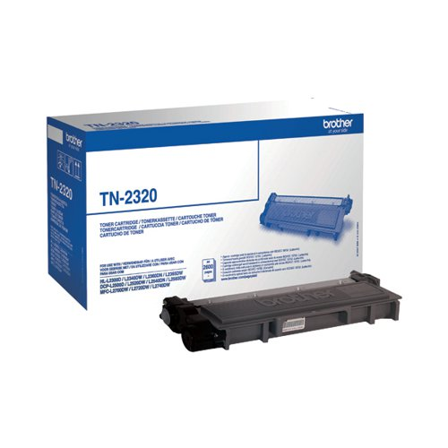 Brother TN2320 Black Toner Cartridge High Capacity TN-2320